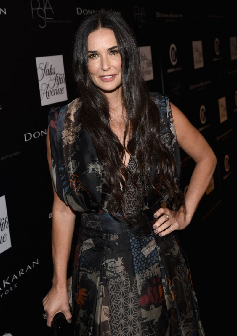 Demi Moore At Fifth Annual PSLA Autumn Party