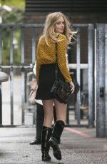 Diana Vickers Seen At the ITV London Studios