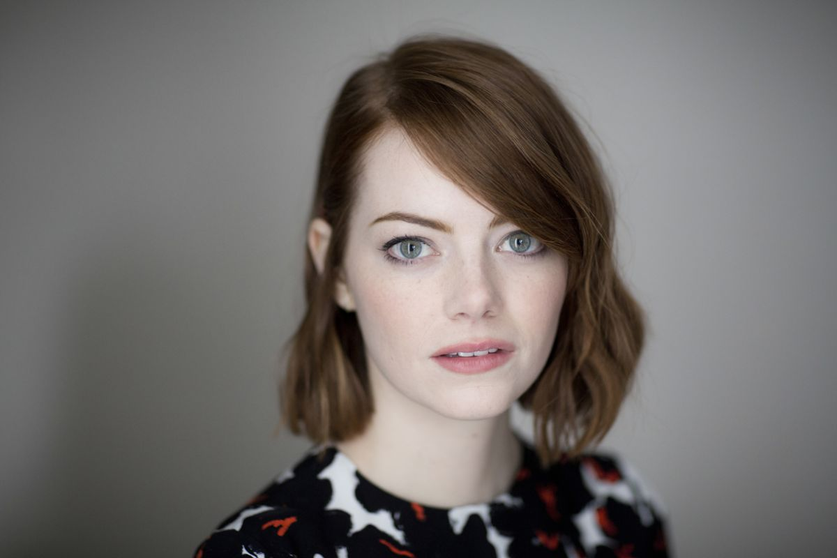 Emma Stone At New York Times Photoshoot October 2014 ...