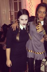 Georgia May Foote Halloween Instagram Pics