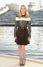 Haley Bennett At Louis Vuitton Show During Paris Fashion Week
