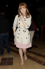 Jessica Chastain Arriving At Sunset 5 Cinemas In West Hollywood