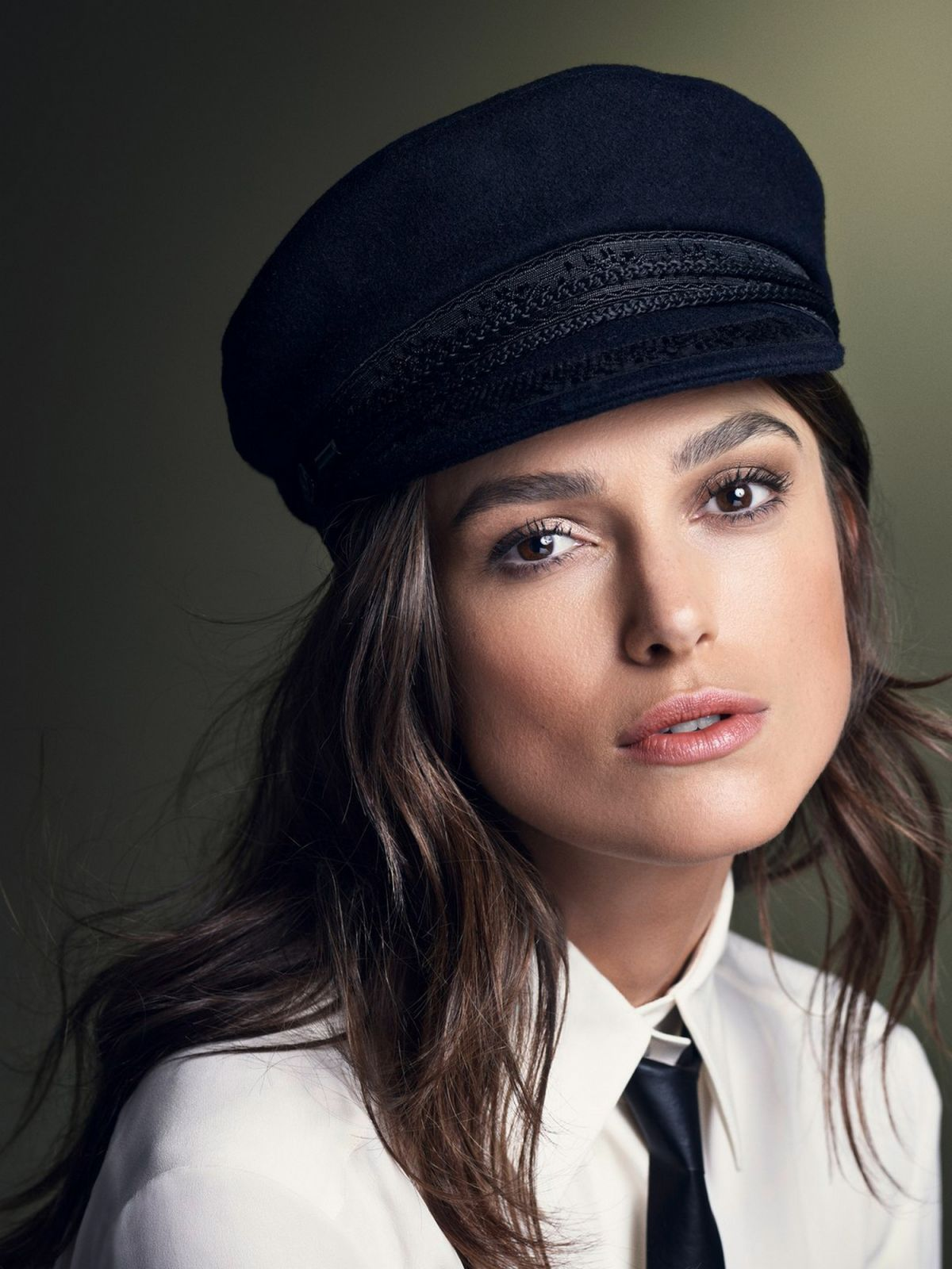 Keira Knightley At Karen Collins Photoshoot For Glamour