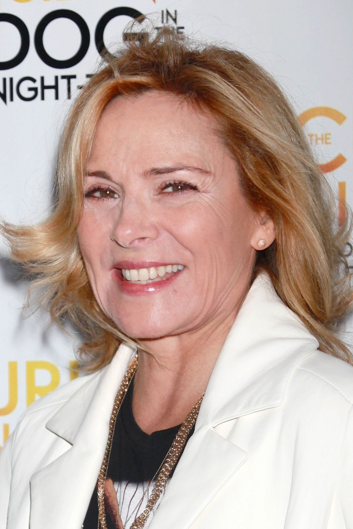 Kim Cattrall Attends The 'The Curious Incident Of The Dog In The ... Kim Cattrall