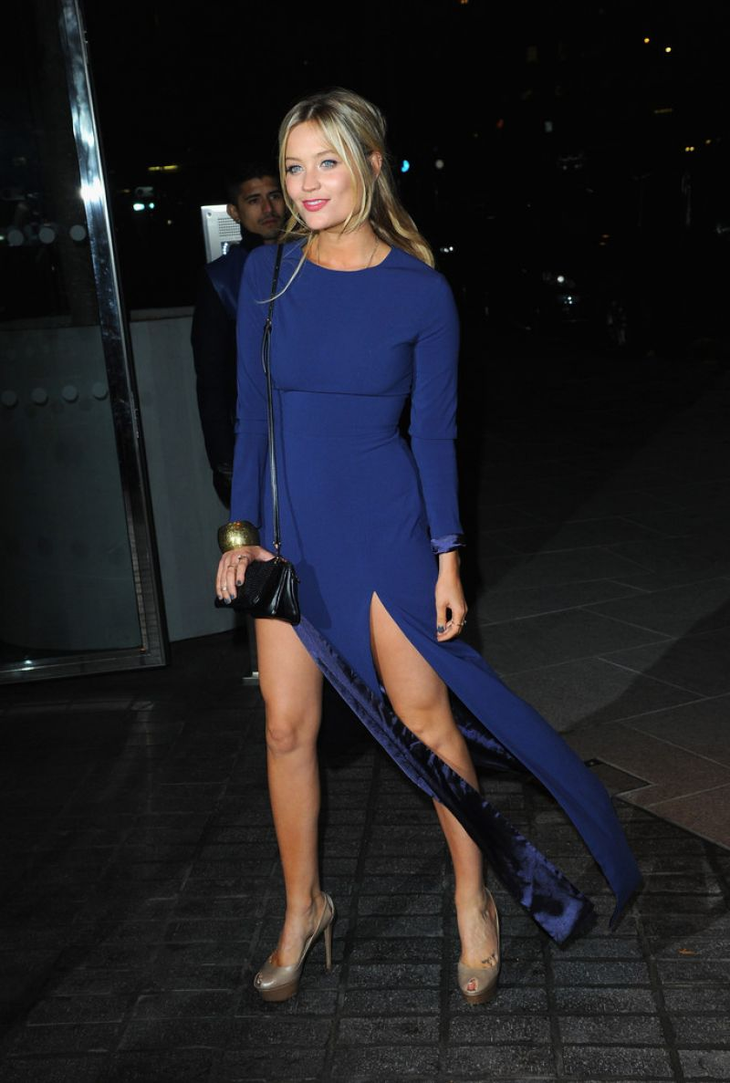 Laura Whitmore At Mondrian Hotel Launch Party