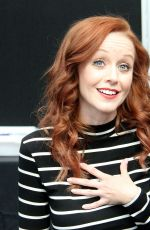 Lindy Booth Promoting The Librarians At Comic-Con