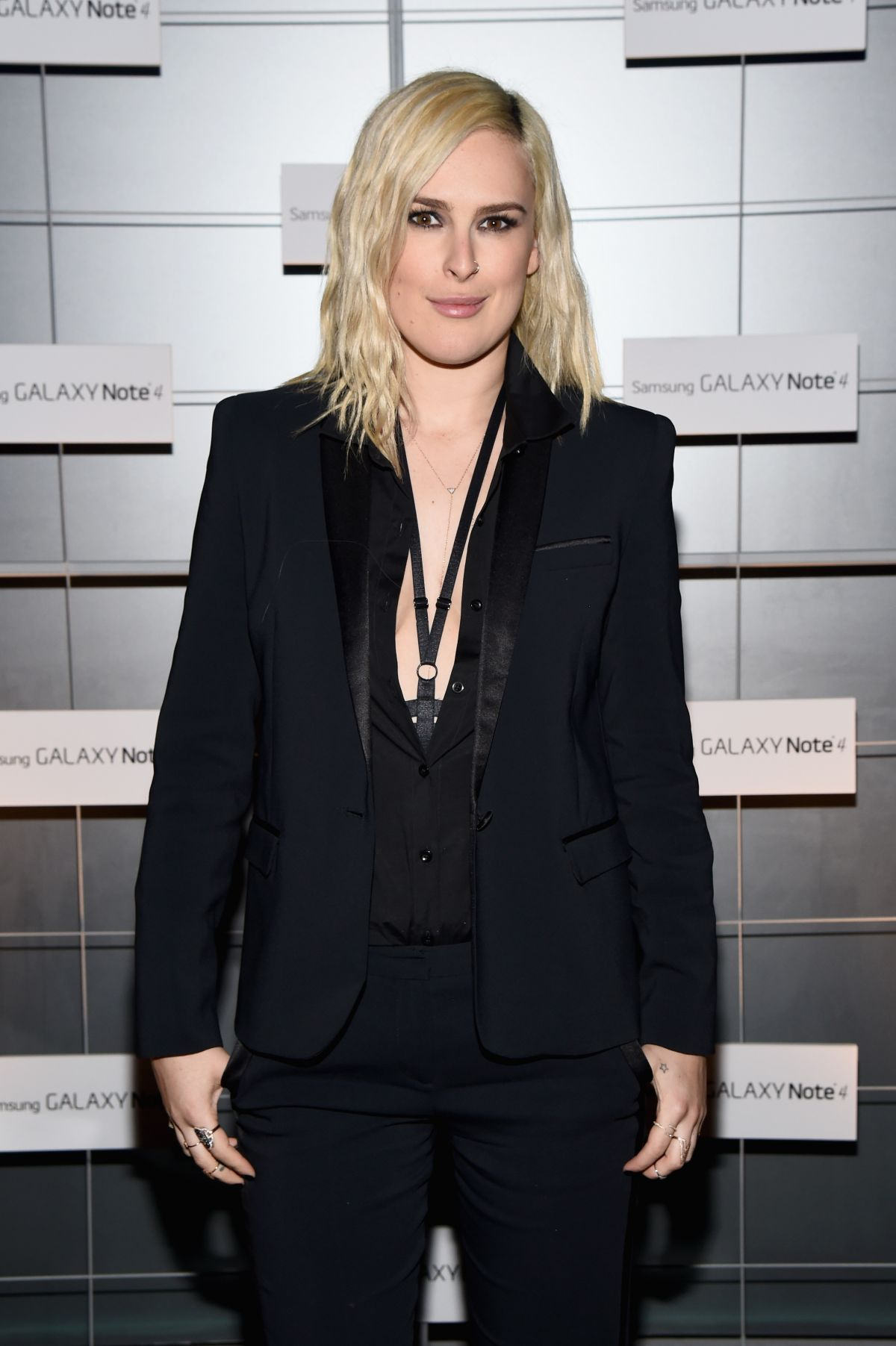 Rumer Willis At The Note Pad In LA