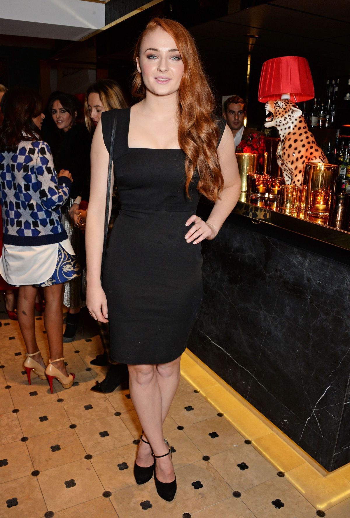 Sophie Turner At Charlotte Olympia