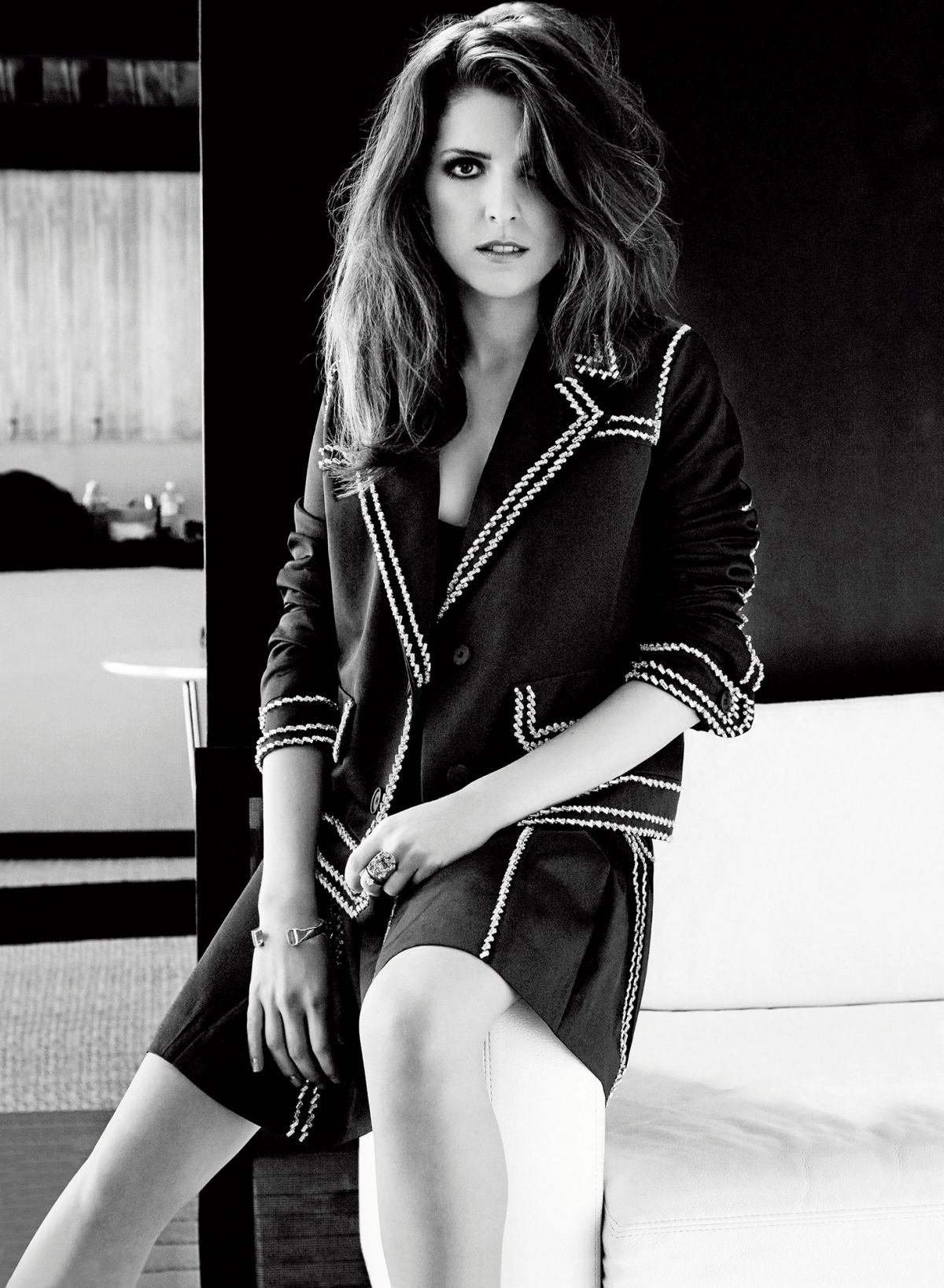 Anna Kendrick In Marie Claire Magazine December 2014