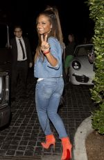 Christina Milian Spotted Out In LA