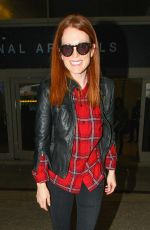 Julianne Moore Arrives At LAX Airport