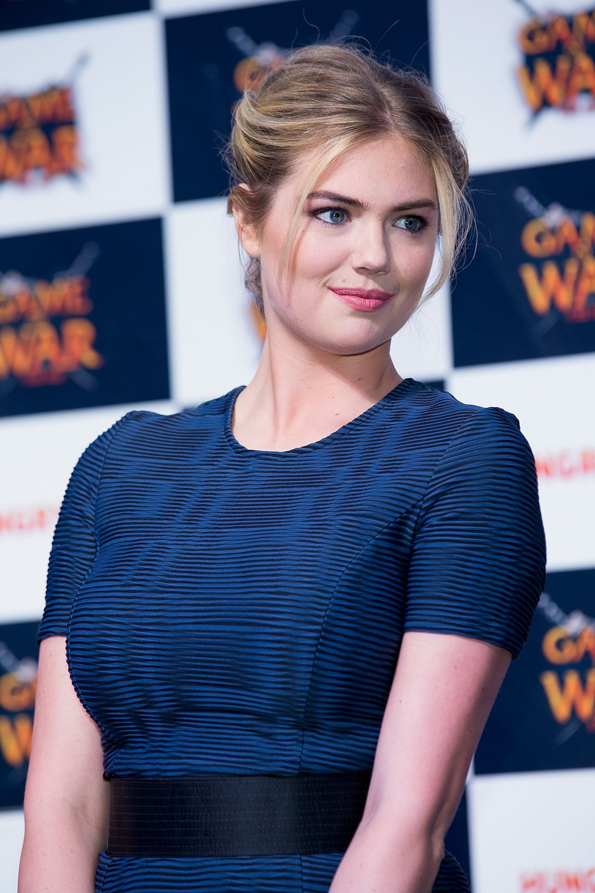 Kate upton at game of war fire age promotional event in busan 3 jpg