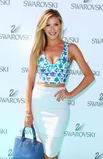 Laura Csortan At Swarovski Garden Party Collection Launch