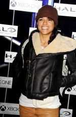 Michelle Rodriguez At HaloFest Halo The Master Chief Collection Launch Event