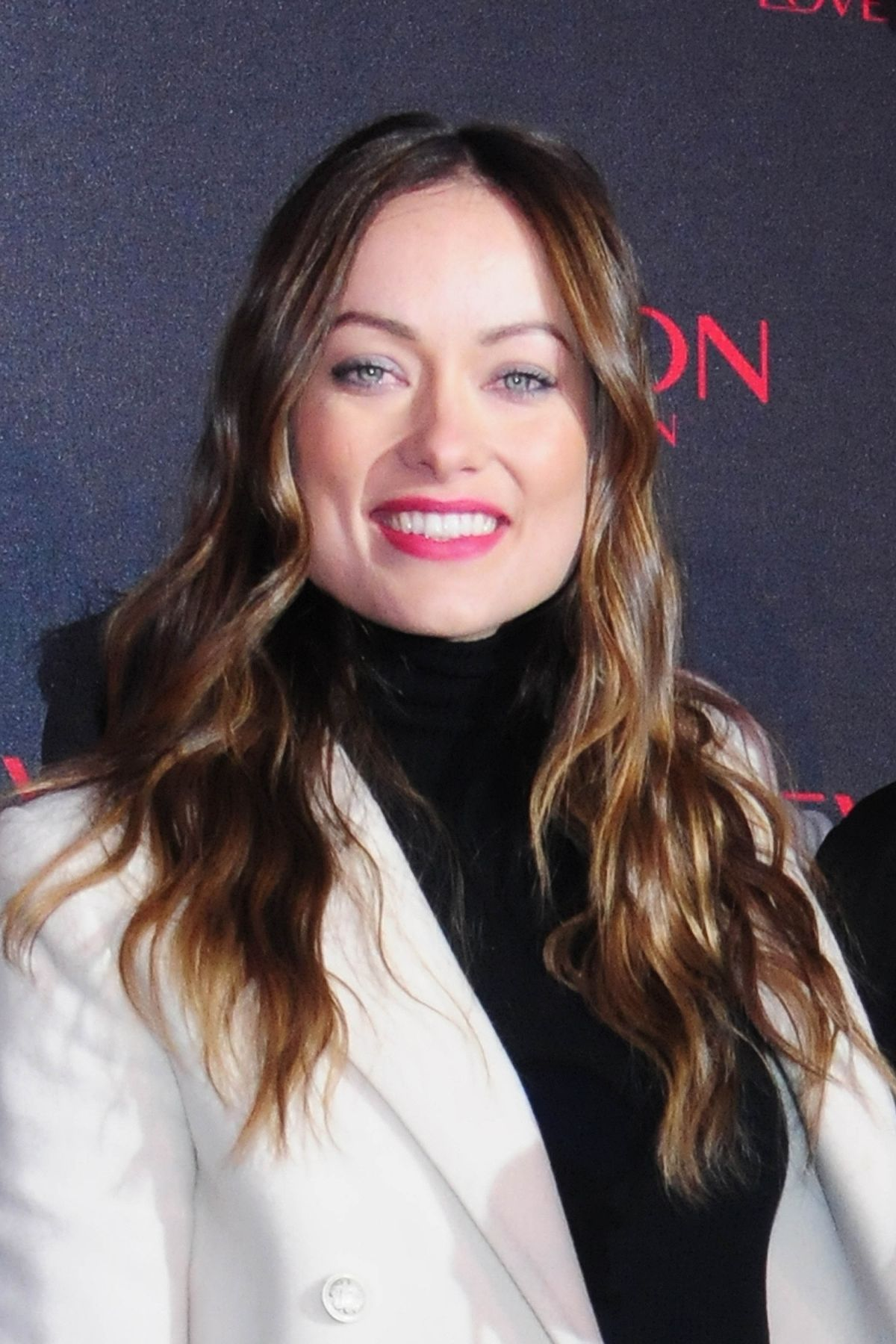 olivia wilde at revlon �love is on� campaign launch celebzz