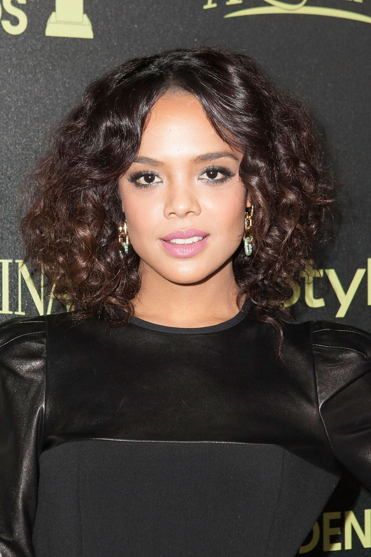 Tessa Thompson At Hfpa Amp Instyle Celebrate 2015 Golden