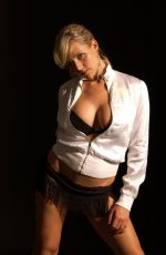Abi Titmuss At Scott McAualy Photoshoot