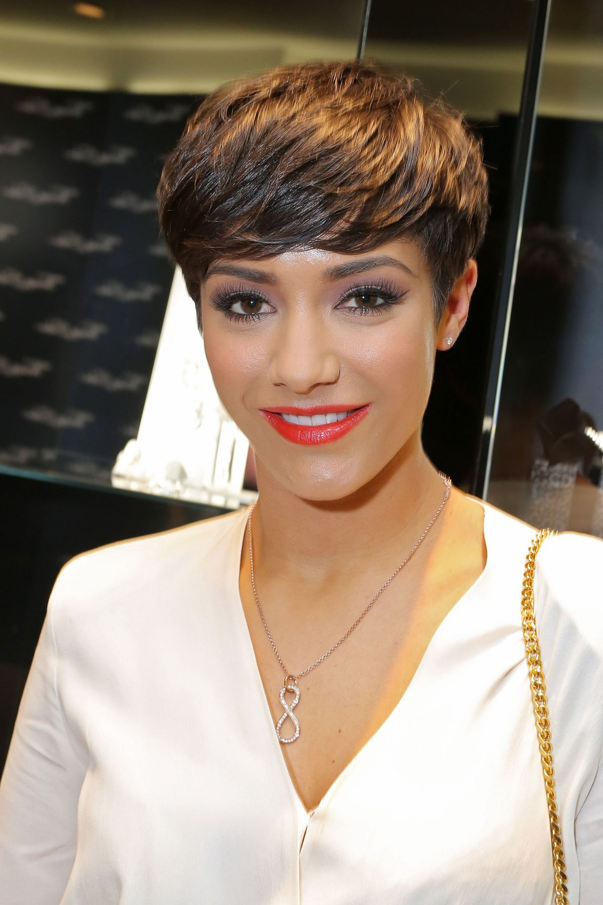 Frankie Sandford At Thomas Sabo Store Launch Celebzz