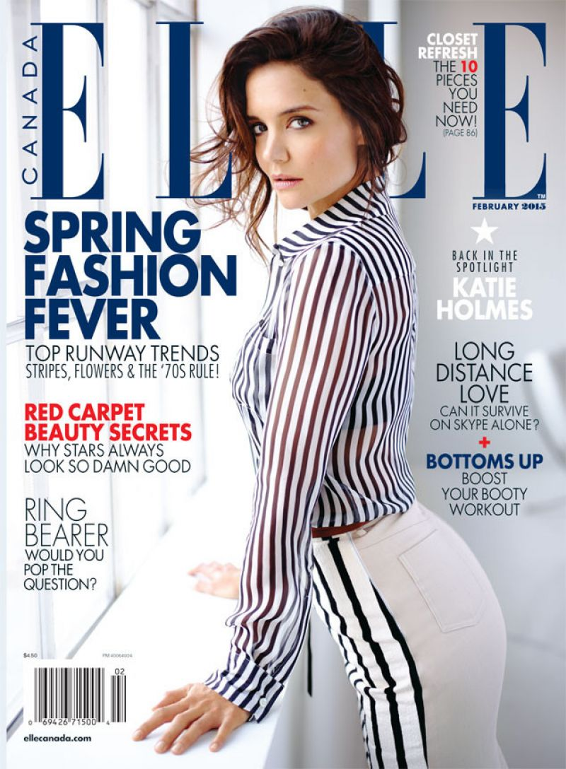 Katie Holmes In Elle Canada February 2015