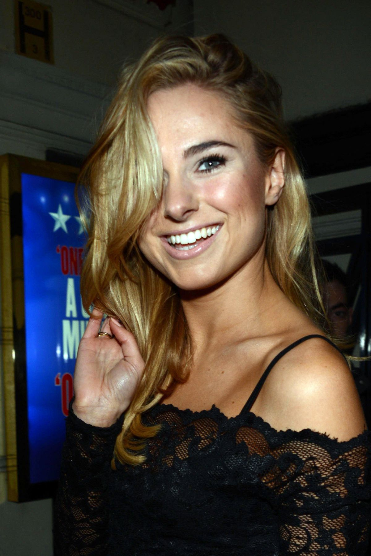 Kimberley Garner Attending The Piccadilly Theatre