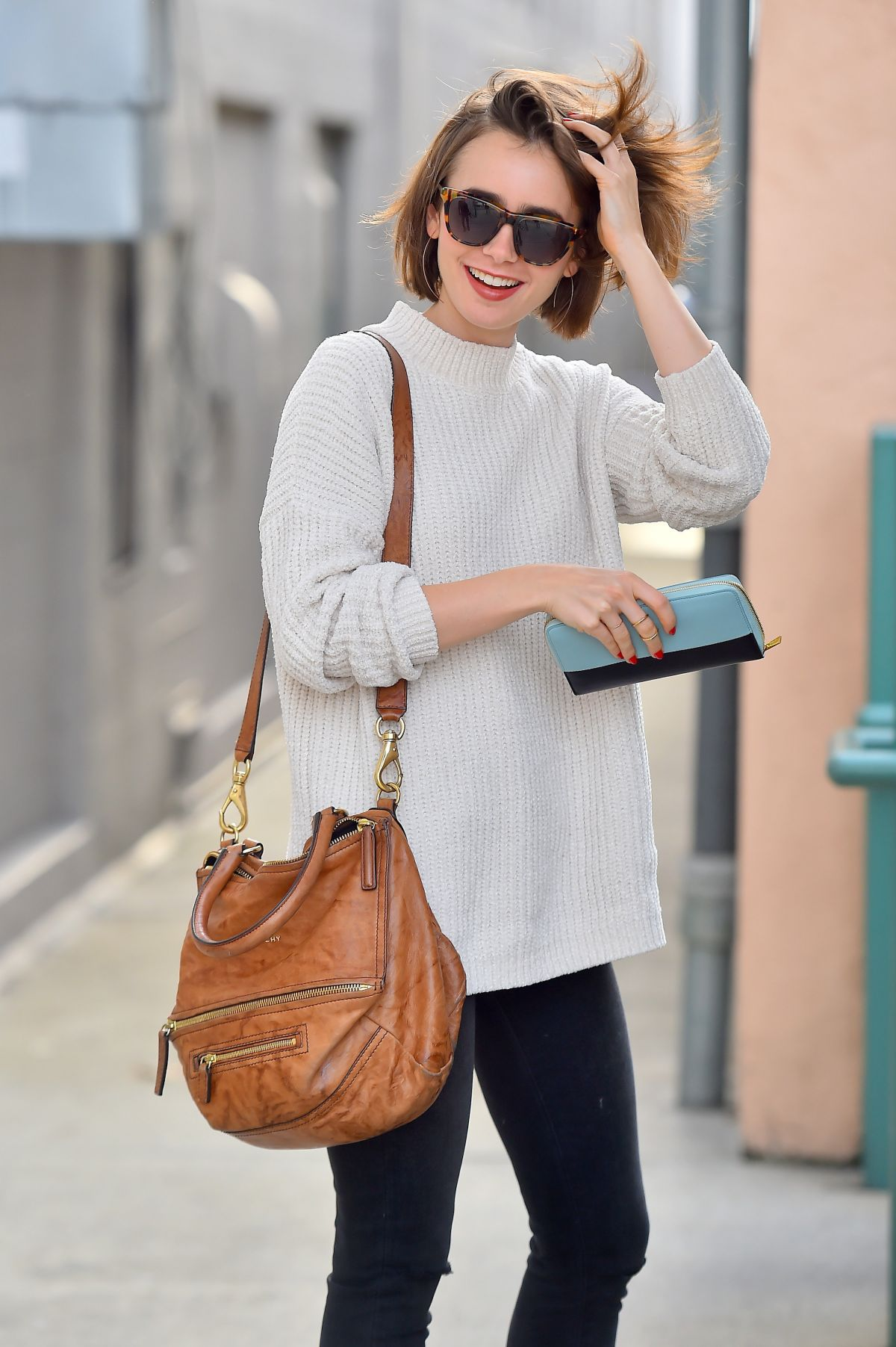 Watch Lily collins street style beverly hills video