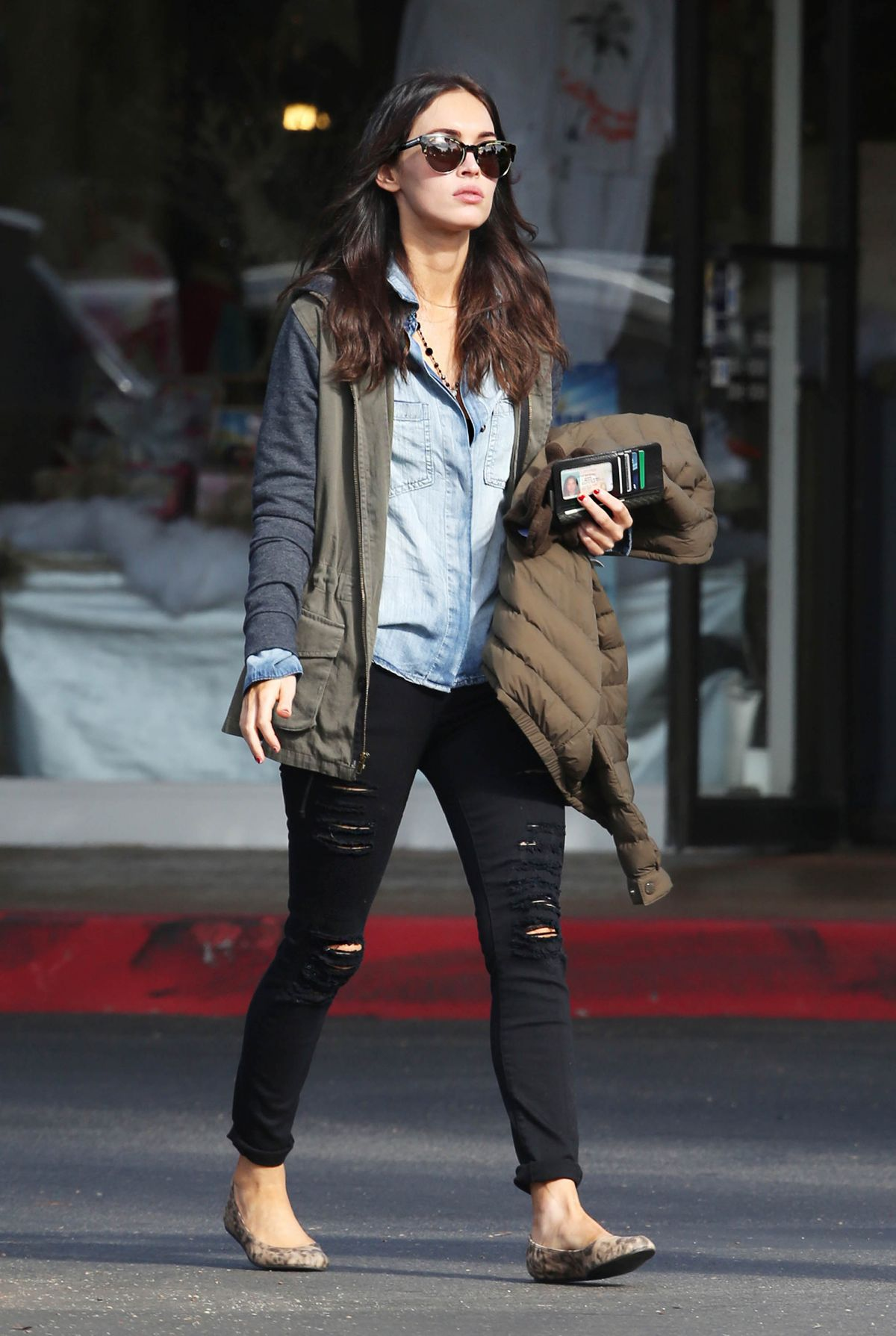 Megan Fox Seen Out & About In LA