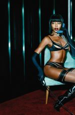 Naomi Campbell At Agent Provocateur Lingerie Spring/Summer ...