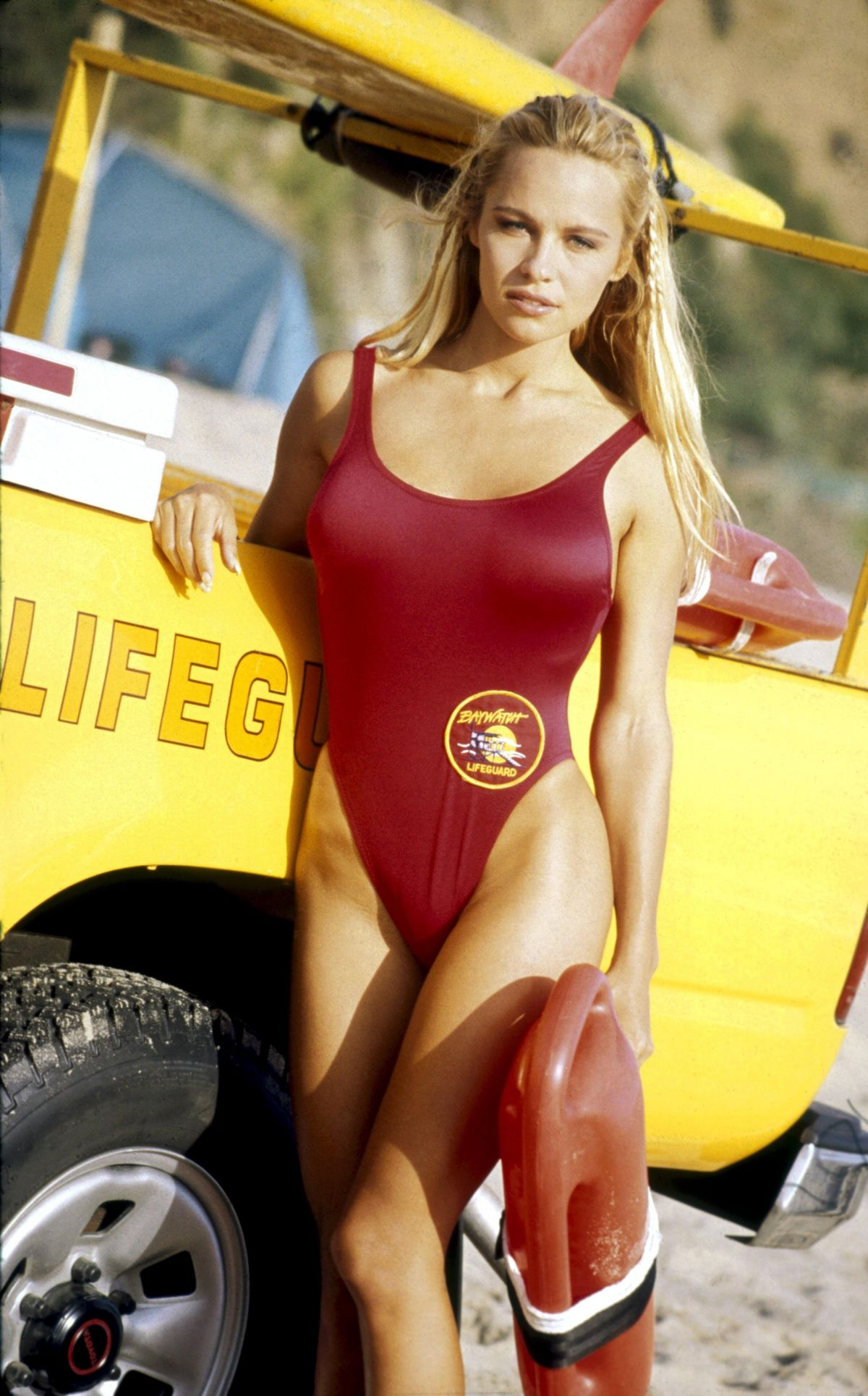 Pamela Anderson At Kim Carlsberg Baywatch PS 1995