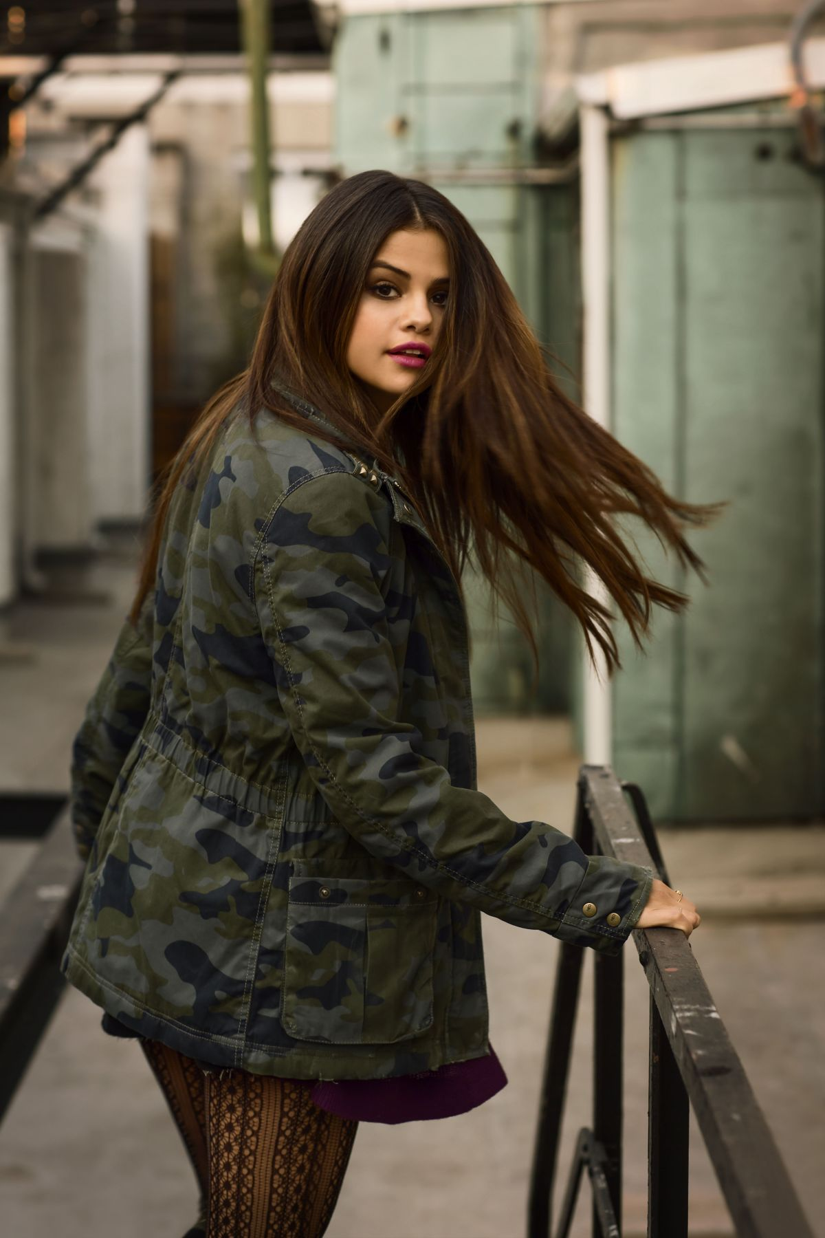 the latest 08cf3 a7ab0 Selena Gomez At Adidas NEO Photoshoot Winter 2014