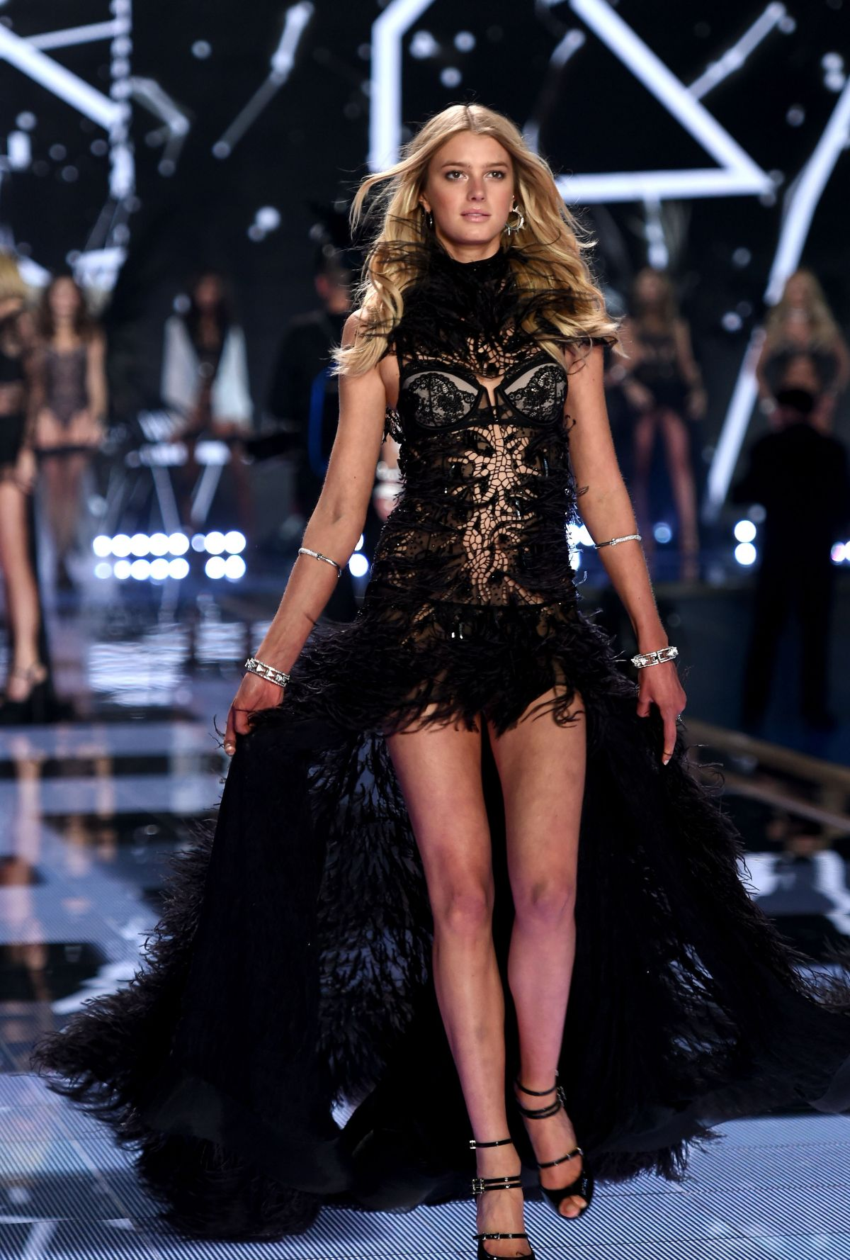 Sigrid agren at 2014 victoria 39 s secret fashion show for Runway fashion show video