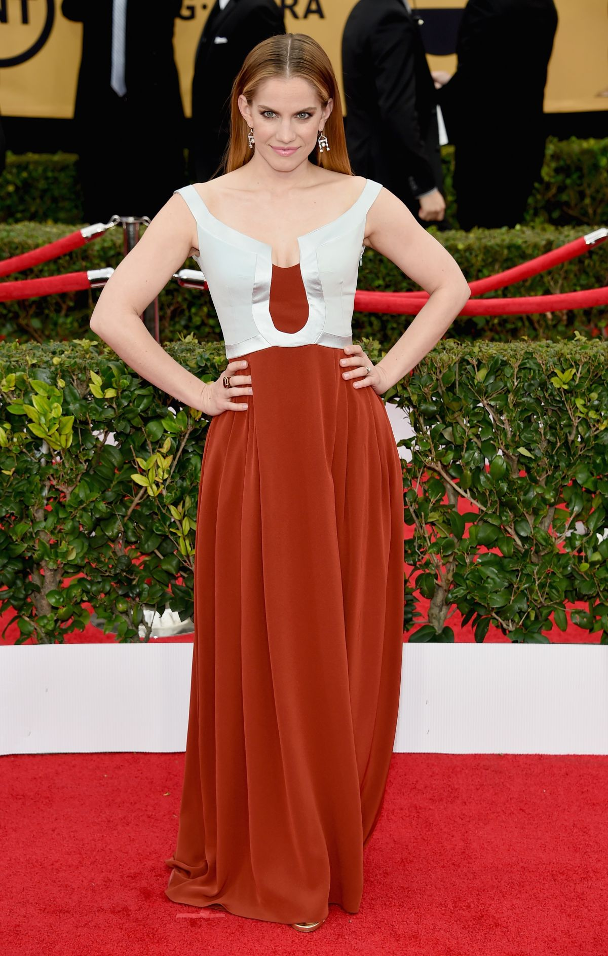 Anna Chlumsky At 21st Annual Screen Actors Guild Awards