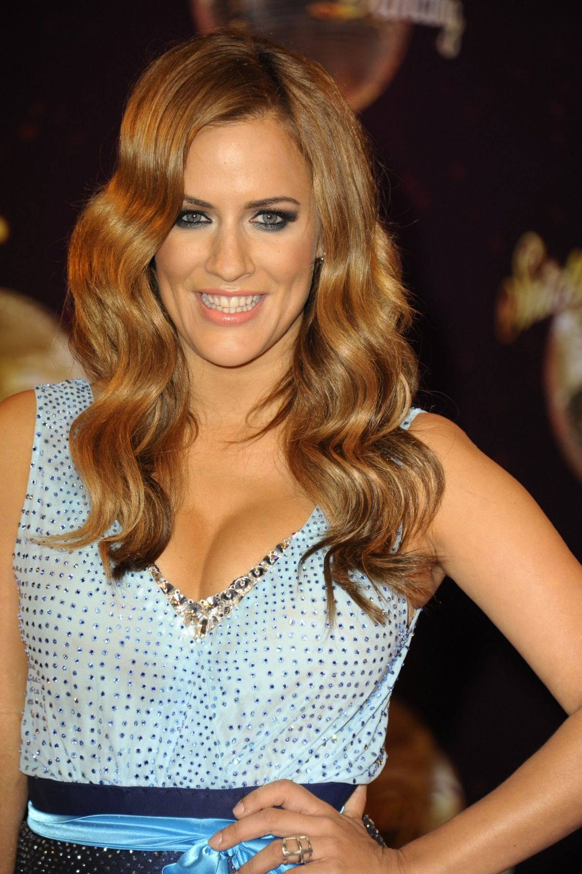 Caroline Flack At Strictly Come Dancing 2014 Launch Party ...