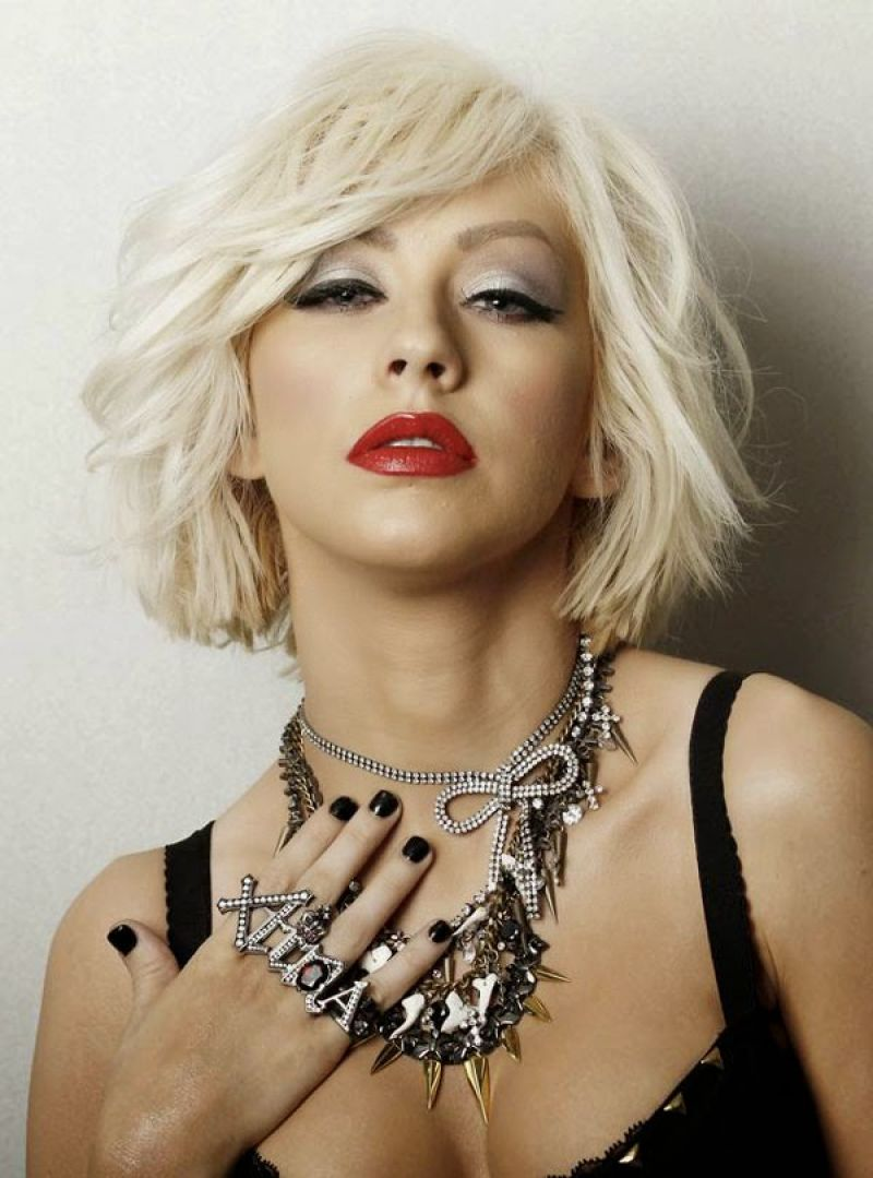 Christina Aguilera In Leisure Latino Spain January 2015
