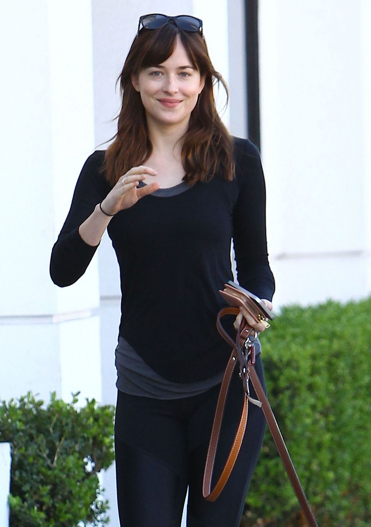Dakota Johnson Out In ...