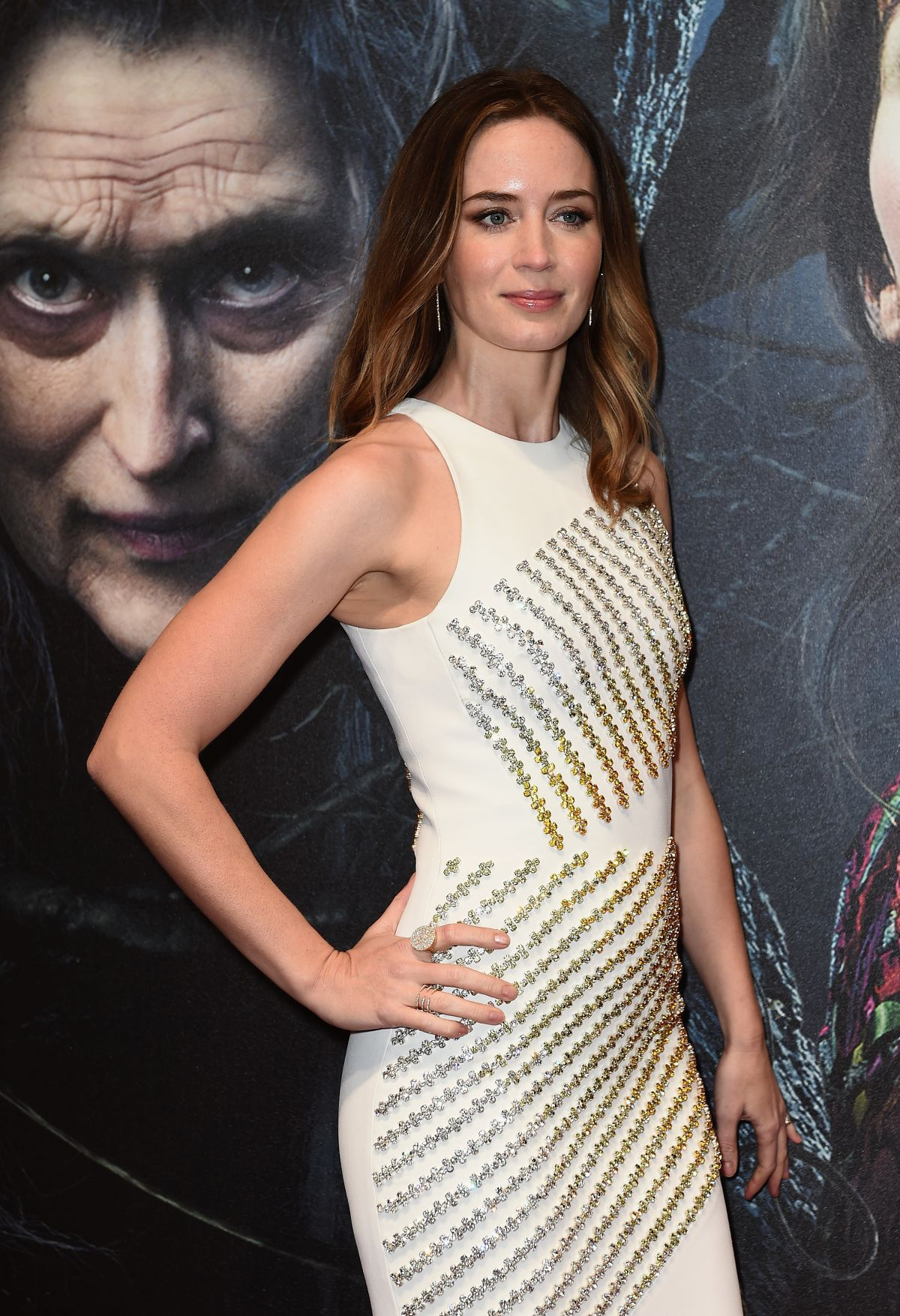 Emily Blunt At Into the Woods Screening