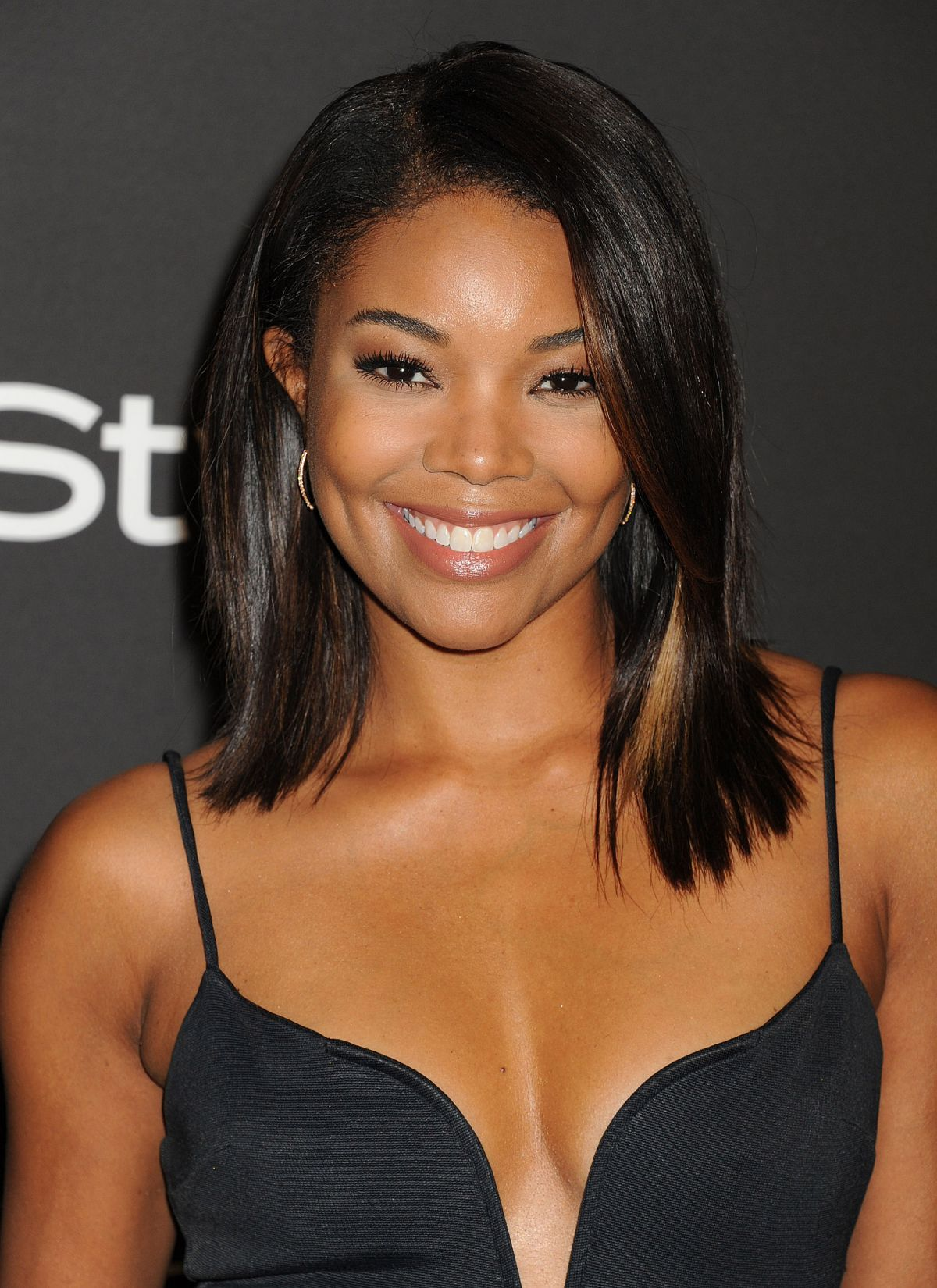 Gabrielle Union At InStyle And Warner Bros Golden Globes Party
