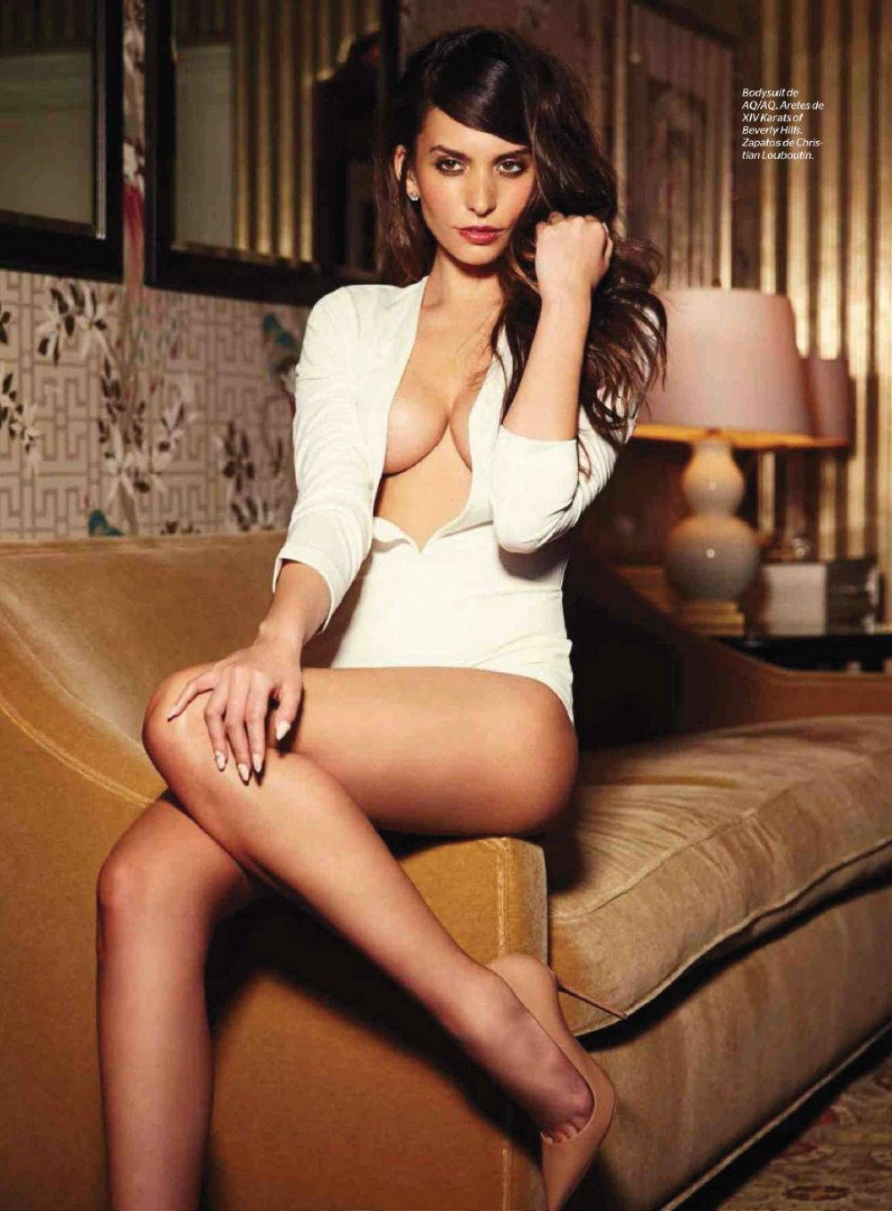 Genesis Rodriguez In Esquire Mexico January 2015