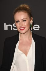 Hannah New At InStyle And Warner Bros Golden Globes Party
