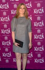 Helen Fospero Attending The Cirque du Soleil Kooza Press Night