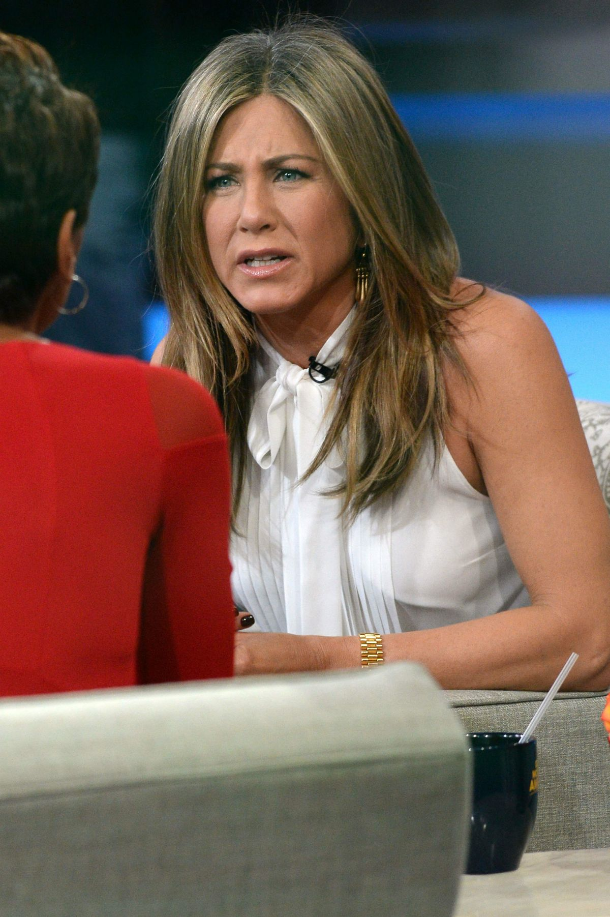 Good Morning America Los Angeles : Jennifer aniston attends the good morning america