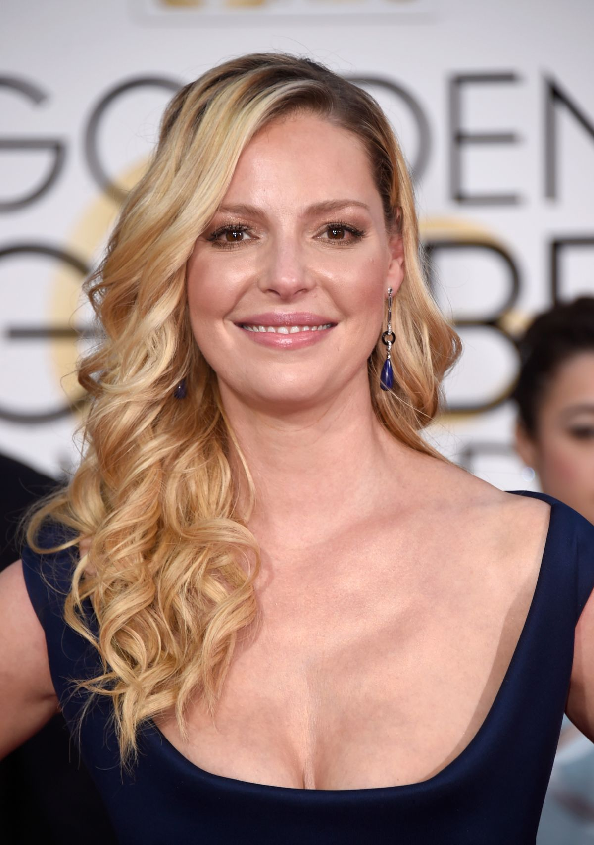 Katherine Heigl At 72nd Annual Golden Globe Awards - Celebzz - Celebzz Katherine Heigl