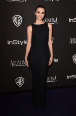 Katie Findlay At InStyle And Warner Bros Golden Globes Party