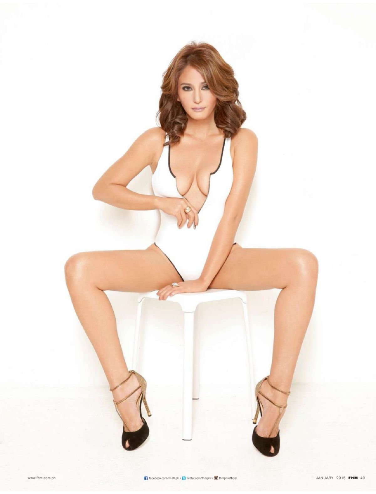 Katrina Halili In FHM Philippines January 2015 - Celebzz
