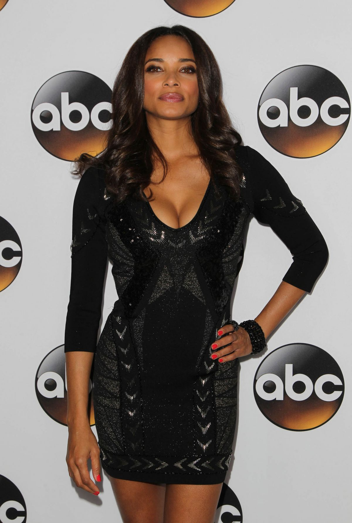 Rochelle Aytes At Disney ABC TCA Winter Press Tour - Celebzz