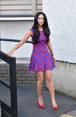 Tulisa Contostavlos At The London ITV Studios