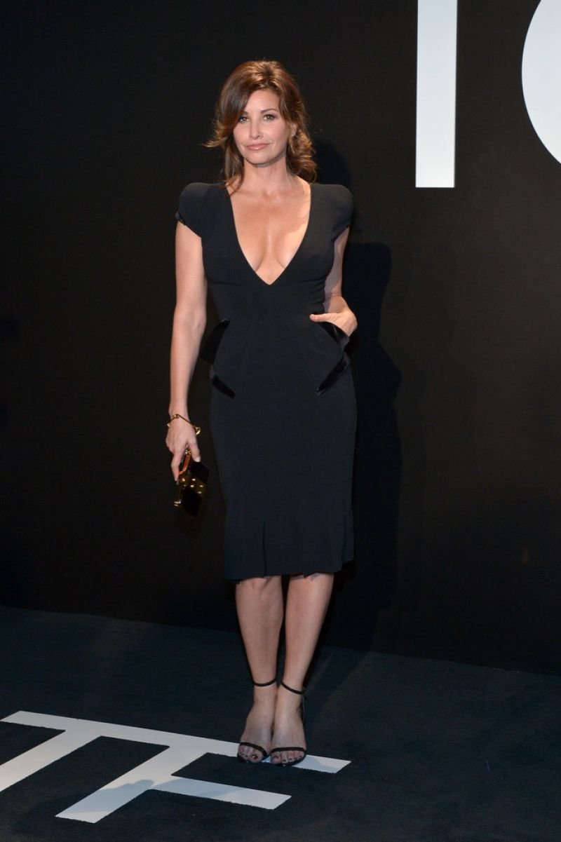 Gina Gershon At Tom Ford A/W 2015 Womenswear Collection Presentation