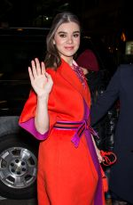 Hailee Steinfeld At Fendi NY Flagship Boutique Inauguration Party