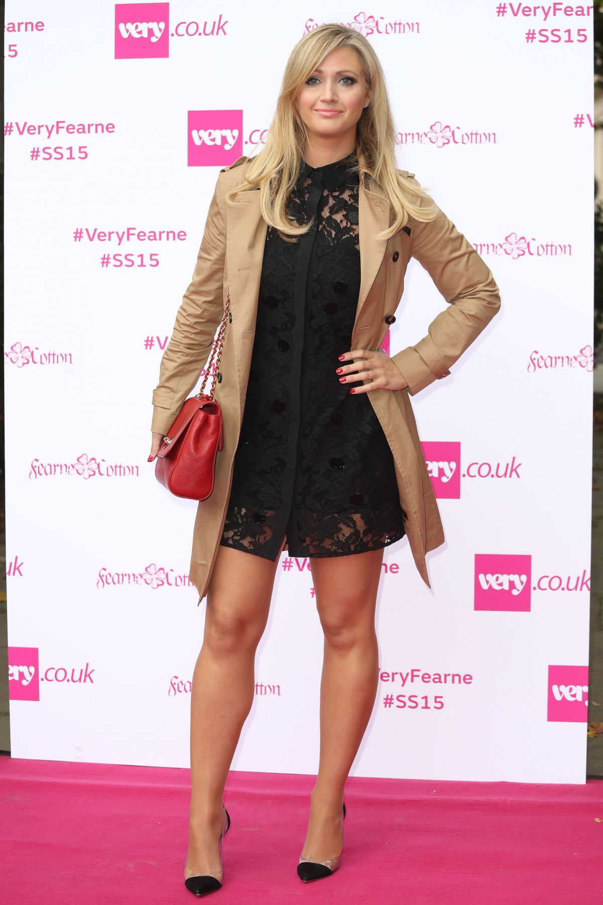 hayley mcqueen at fearne cotton for photocall. Black Bedroom Furniture Sets. Home Design Ideas