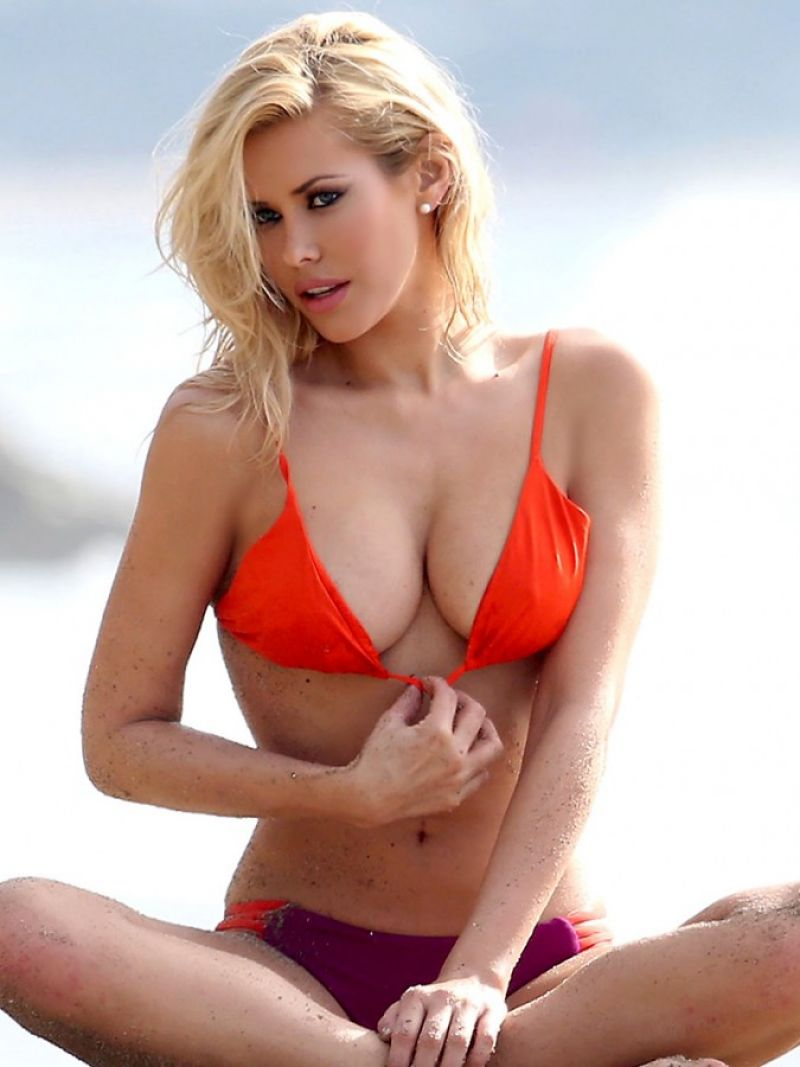 Claire richards bikini