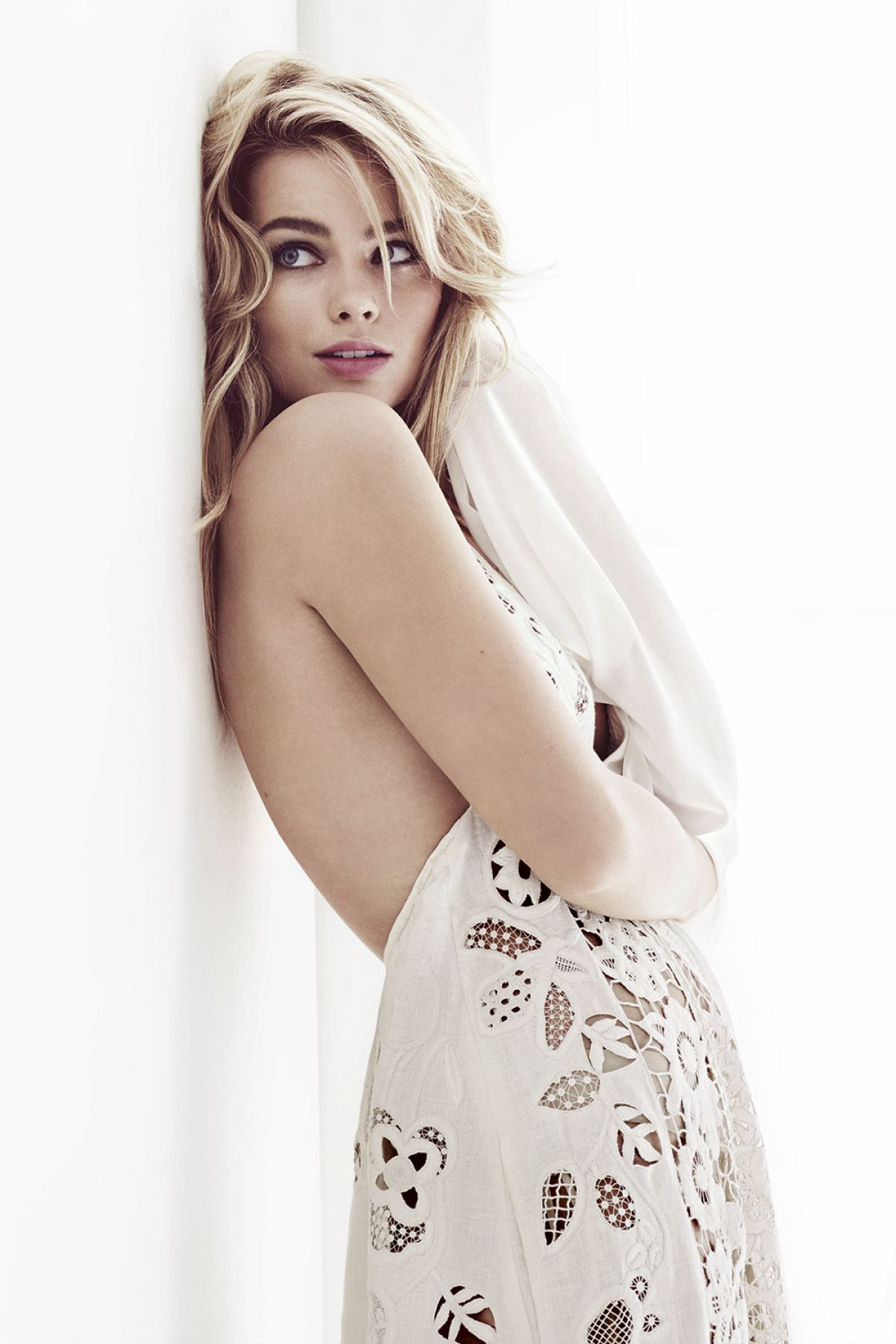 Margot Robbie At Harper39;s Bazaar UK April 2015  Celebzz